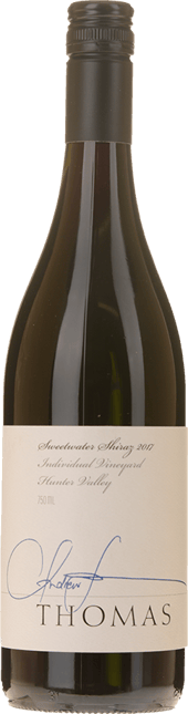 THOMAS WINES Sweetwater Shiraz, Hunter Valley 2017