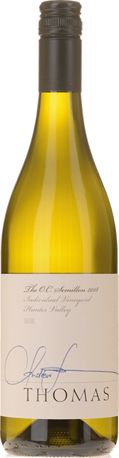 THOMAS WINES The O.C. Semillon, Hunter Valley 2018
