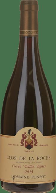 DOMAINE PONSOT Cuvee Vieilles Vignes, Clos de la Roche 2015