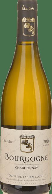 FABIEN COCHE Grandes Coutures , Bourgogne Blanc 2016