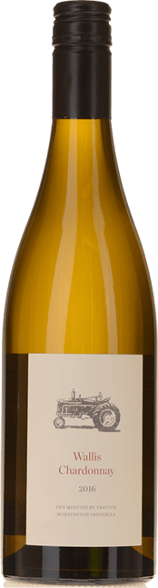 TEN MINUTES BY TRACTOR Wallis Vineyard Chardonnay, Mornington Peninsula 2016