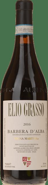 ELIO GRASSO Vigna Martina, Barbera d'Alba DOC 2016