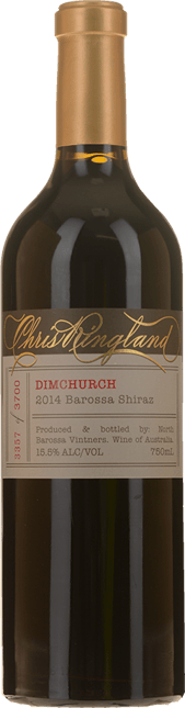 CHRIS RINGLAND Dimchurch Shiraz, Barossa Valley 2014