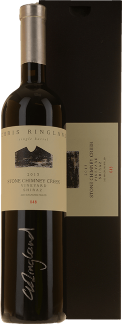 CHRIS RINGLAND Single Barrel Stone Chimney Creek Vineyard Shiraz, Barossa Valley 2013