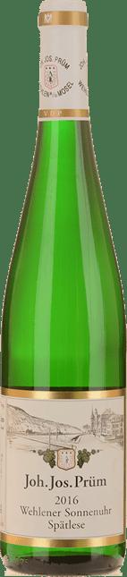 JOH. JOS. PRUM Wehlener Sonnenuhr Riesling-Spatlese, Mosel-Saar-Ruwer 2016
