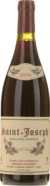 GERARD COURBIS Vieilles Vignes , St-Joseph, St-Joseph 2016