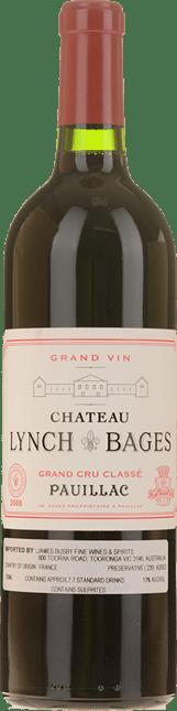 CHATEAU LYNCH-BAGES 5me cru classe, Pauillac 2008
