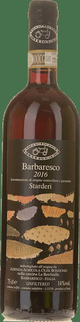 OLEK BONDONIO Starderi , Barbaresco DOCG 2016