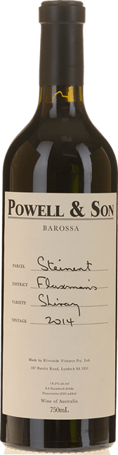 POWELL AND SON Steinert Flaxman's Shiraz, Eden Valley 2014