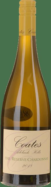 COATES The Reserve Chardonnay, Adelaide Hills 2018