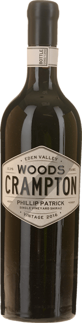 WOODS CRAMPTON Phillip Patrick Old Vines Single Vineyard Shiraz, Eden Valley 2016