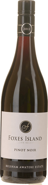 FOXES ISLAND Belsham Awatere Estate Pinot Noir, Marlborough 2012