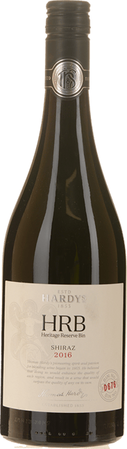 HARDY'S HRB D676 Shiraz, McLaren Vale, Clare Valley, Pyrenees 2016