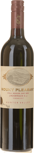 MOUNT PLEASANT Mountain D Full Bodied Dry Red, Hunter Valley 2017