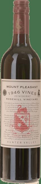 MOUNT PLEASANT Rosehill 1946 Vines Shiraz, Hunter Valley 2014