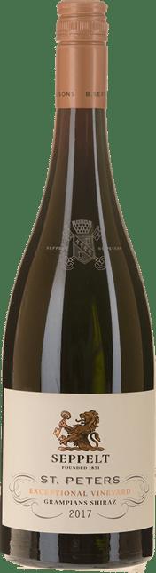 SEPPELT St Peters Great Western Vineyards Shiraz, Grampians 2017
