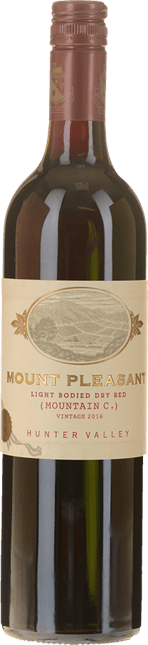 MOUNT PLEASANT Mountain C Light Bodied Dry Red, Hunter Valley 2016