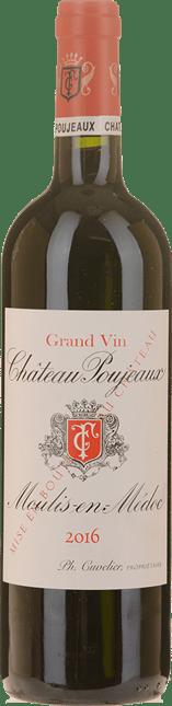 CHATEAU POUJEAUX Grand bourgeois exceptionnel, Moulis 2016