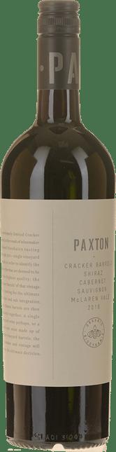 PAXTON WINES Cracker Barrels Shiraz Cabernet, McLaren Vale 2016