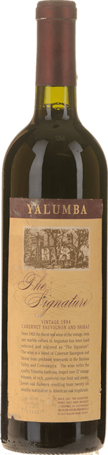 YALUMBA The Signature Cabernet Shiraz, Barossa 1994