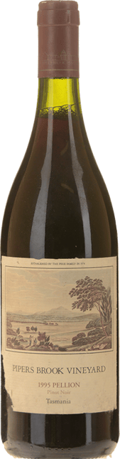 PIPERS BROOK VINEYARD Pellion Pinot Noir, Northern Tasmania 1995