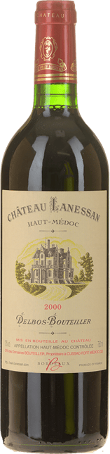 CHATEAU LANESSAN Cru bourgeois, Haut-Medoc 2000