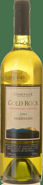 OAKVALE Gold Rock Verdelho, Australia 2003