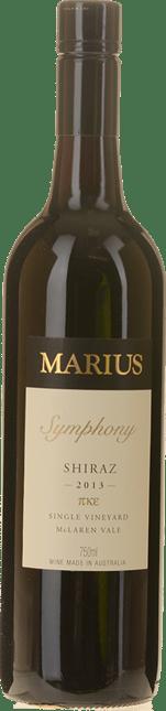 MARIUS WINES Symphony Single Vineyard Shiraz, McLaren Vale 2013