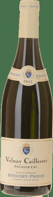 DOMAINE BITOUZET-PRIEUR 1er cru, Volnay-Caillerets 2012