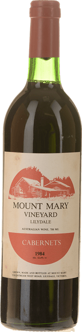 MOUNT MARY Quintet Cabernet Blend, Yarra Valley 1984