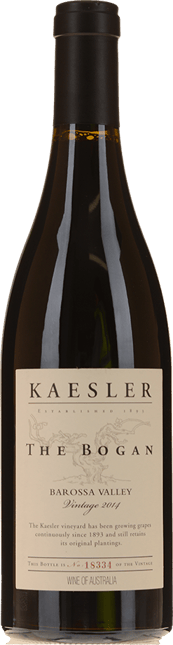 KAESLER WINES The Bogan Shiraz, Barossa Valley 2014