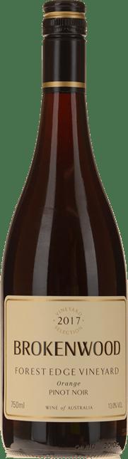 BROKENWOOD WINES Forest Edge Pinot Noir, Orange 2017