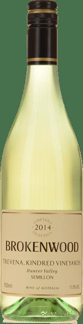 BROKENWOOD WINES Trevena, Kindred Vineyards Semillon, Hunter Valley 2014