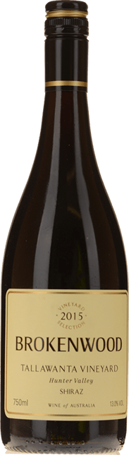 BROKENWOOD WINES Tallawanta Vineyard Shiraz, Hunter Valley 2015