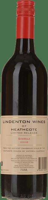 LINDENTON WINES Limited Release Shiraz, Heathcote 2008