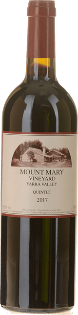 MOUNT MARY Quintet Cabernet Blend, Yarra Valley 2017