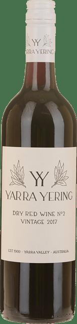 YARRA YERING Dry Red Wine No.2 Shiraz, Yarra Valley 2017