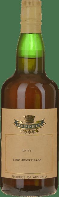 SEPPELT DP 116 Show Amontillado Medium Sherry, Barossa Valley NV