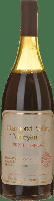 DIAMOND VALLEY VINEYARDS Estate Pinot Noir, Yarra Valley 1986