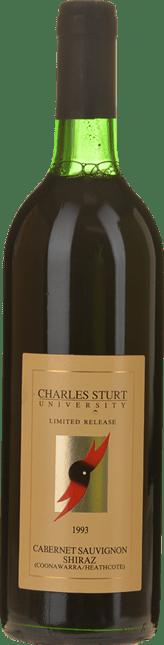 CHARLES STURT UNIVERSITY Cabernet Shiraz, Coonawarra-Heathcote 1993