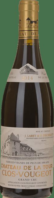 CHATEAU DE LA TOUR Vieilles Vignes, Clos de Vougeot 2014