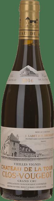 CHATEAU DE LA TOUR Vieilles Vignes, Clos de Vougeot 2016