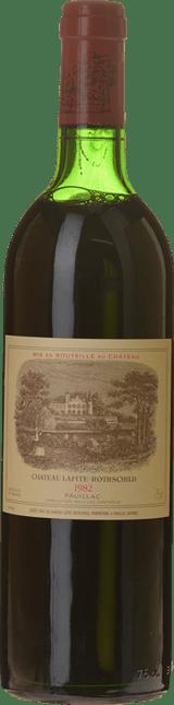 CHATEAU LAFITE-ROTHSCHILD 1er cru classe, Pauillac 1982