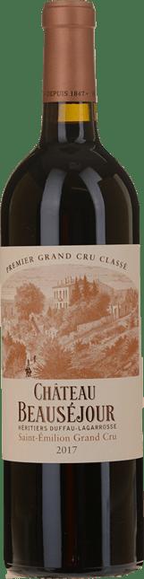 CHATEAU BEAUSEJOUR-DUFFAU-LAGAROSSE 1er grand cru classe (B), St-Emilion 2017