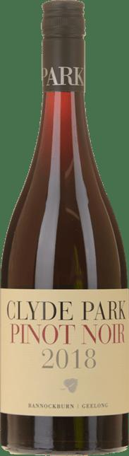 CLYDE PARK VINEYARD Bannockburn Pinot Noir, Geelong 2018