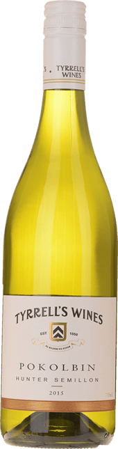 TYRRELL'S Pokolbin Semillon, Hunter Valley 2015