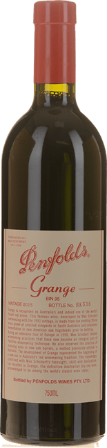 PENFOLDS Bin 95 Grange Shiraz, South Australia 2015