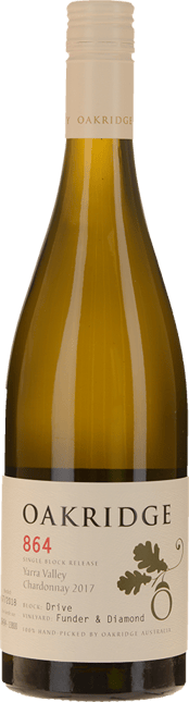 OAKRIDGE ESTATE 864 Funder & Diamond Vineyard Drive Block Chardonnay, Yarra Valley 2017