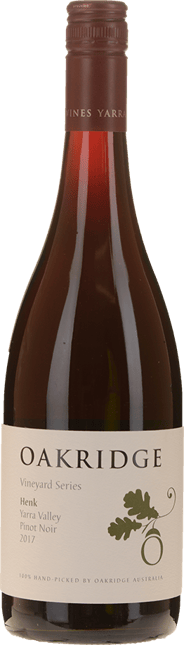 OAKRIDGE WINES Local Vineyard Series Henk's Vineyard Pinot Noir, Yarra Valley 2017
