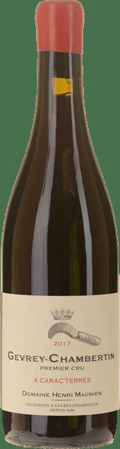 DOMAINE HENRI MAGNIEN Gevrey Chambertin 1er cru  Cuvée 4 Carac'Terres , Gevrey-Chambertin 2017